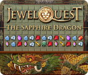 software puzzle games match 3 casual games adventure games action games  Jewel Quest: The Sapphire Dragon